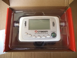 SAt Finder Octagon SF 418 LCD